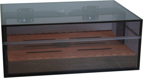 Savuinen akryyli -humidori tumma