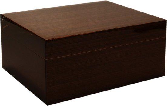 Humidor z lesklého dřeva Wenge 50