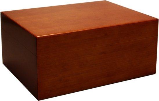 Humidor bambus brun mat 50