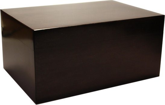 Humidor Frosted 100 - Bambusz, fekete
