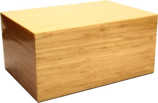 Humidor Bamboo Frosted 100