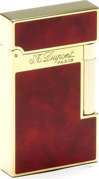 Zapalovač S.T. Dupont Atelier čínský lak, třešňově červená
