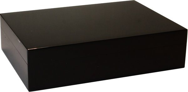 Guy Janot Humidor Black Piano Laquer 20