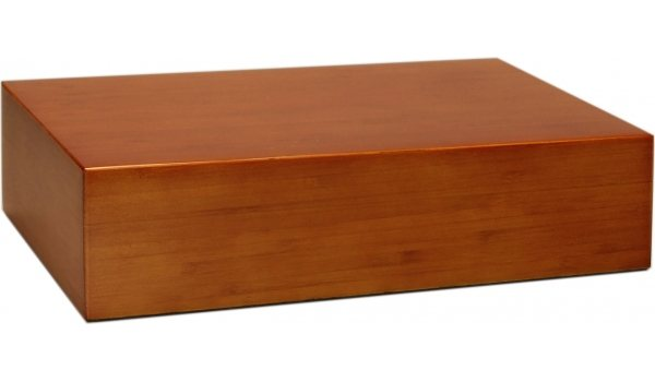 Humidor Bambus Brun Frosted 20