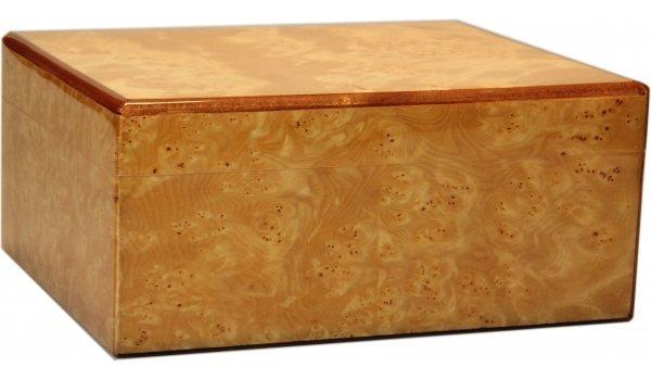 Humidor Guy Janot burlové dřevo lesklé 50