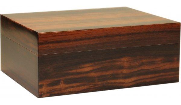 Humidor Pegasus makassarové dřevo matné 35