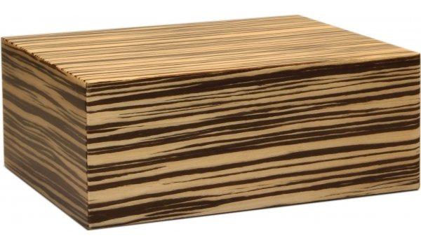 Humidor Pegasus makassarové dřevo bílé 35