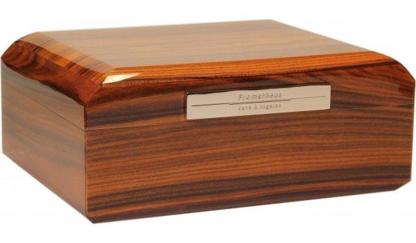 Humidor Prometheus rosewoodové dřevo 50 doutníků Octagon