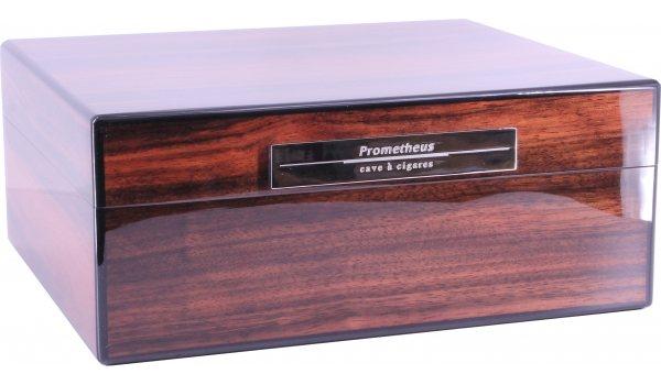 Humidor Prometheus Milano makassarové dřevo 50