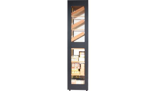 adorini Humidor Cabinet Capri Deluxe black
