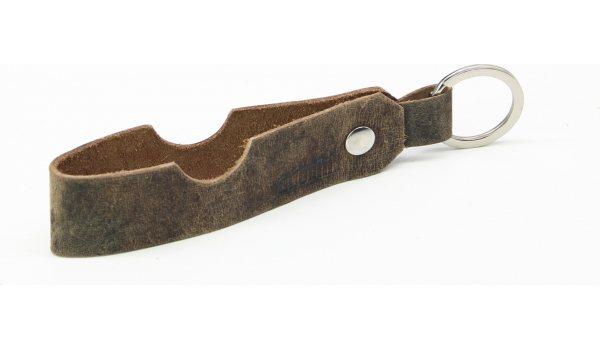 Adorini sigar og pipe støtte skinn nøkkelring