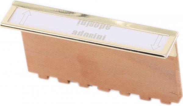 Метални клипсове за етикети adorini
