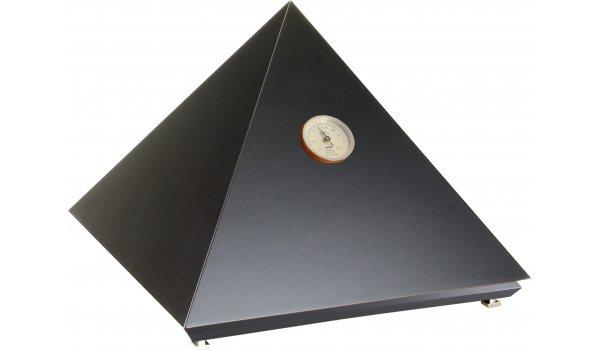 adorini Pyramid Deluxe M humidori, musta