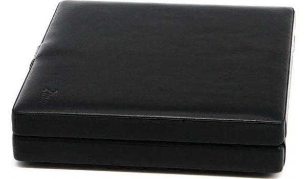 季诺(Zino)黑色软皮便携式雪茄盒