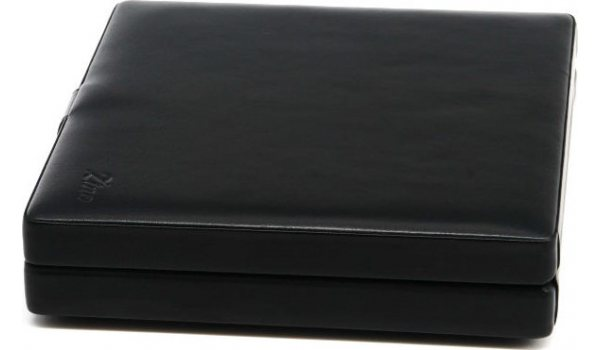 Zino utazó humidor puha fekete bőrből
