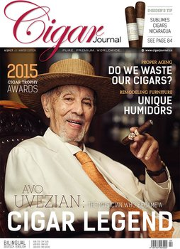 Revista Cigar Journal 04/2015