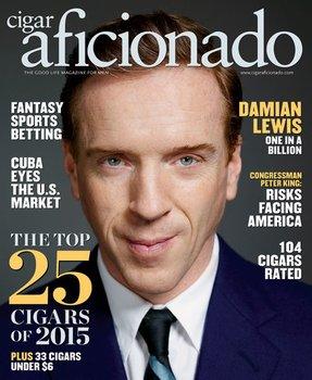 Magazín Cigar Aficionado únor 2016