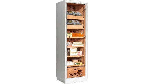 Ravenna 175 Deluxe Humidor Cabinet Valkoinen