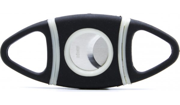 Adorini cigar cutter oval TRP-rubber coating