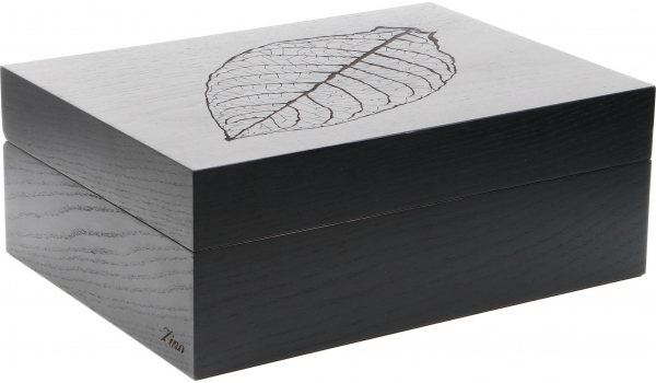 Zino Humidor Leaf Black Oak