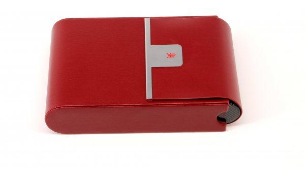 Cestovní humidor HF Barcelona R červený