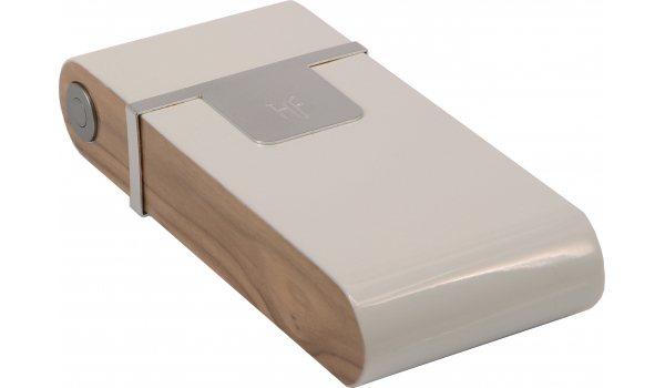 Humidor de buzunar HF Barcelona W Pocket alb