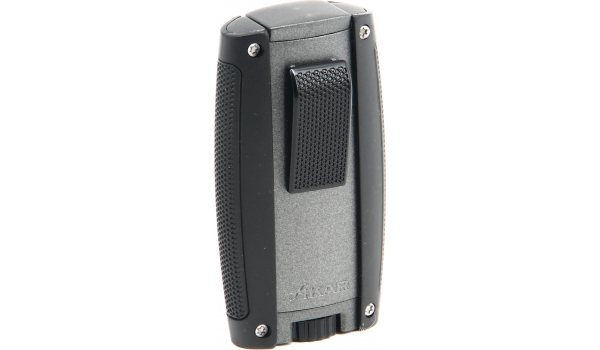Xikar Turismo Double Flame Lighter Matte Gray