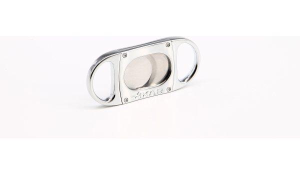 Xikar M8 Metal Body Cutter Chrome Silver