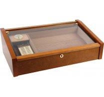 Vega (mahogany) - Deluxe glass top humidor <&&IMAGE&&> 100