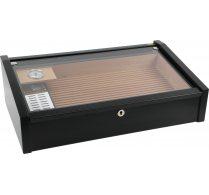 Vega (black) - Deluxe display humidor <&&IMAGE&&> 100