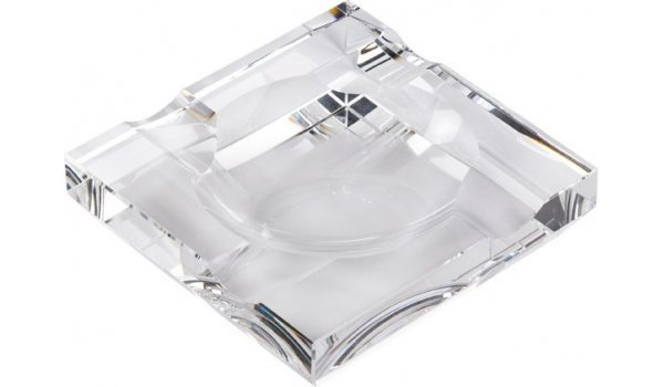 Square Glass tuhkakuppi