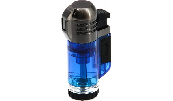 Xikar Tech Triple Lighter Blue