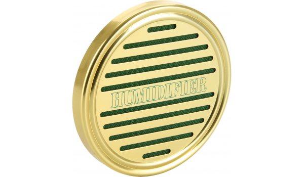 Okrugli zlatni ovlaživač sa spužvom
