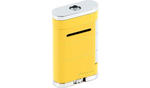 Xikar Allume Single Jet Lighter Electric Yellow