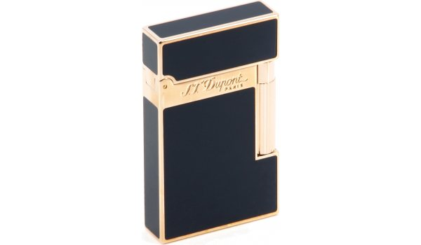 S.T. Dupont Ligne 2 sytytin Blue Chinese Lacquer/Pink Gold