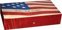 Elie Bleu Stars & Stripes Flag humidori 110 sikarille