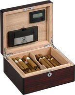 Dimaond Crown The Oxford Humidor for 40 Cigars Rosewood Gloss