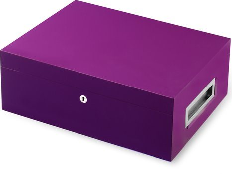 别墅温泉雪茄盒紫色