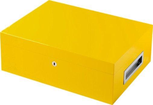 VillaSpa humidori keltainen