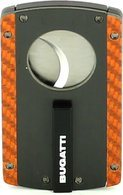 Bugatti Carbon Fiber Cigar Cutter Orange