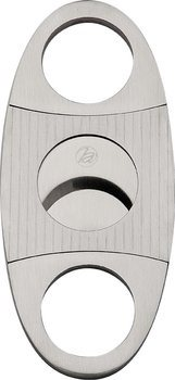 Cigar Cutter Stripes Day Chrome Satin