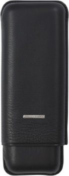 Lecerf Cigar Case for 2 Double Toros Black