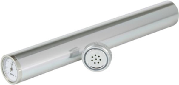 adorini Humidor Tube with Silver Hygrometer