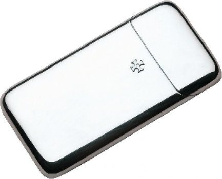Small Silver-Plated Case for 5 Cigars