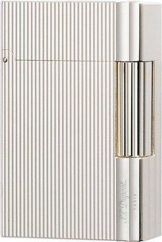 S.T. Dupont Gatsby Lighter Fine Kanter Sølv 18137
