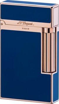 S.T. Dupont Ligne 2 Lighter Blå Kineser Lak/Lyserød Guld
