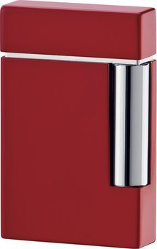 S.T. Dupont Ligne 8 Lighter Red/Chrome