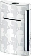 S.T. Dupont MiniJet Lighter Lagerfeld Silhouette White