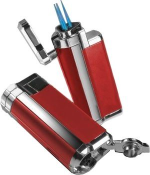 BOM Tristar Lighter Red
