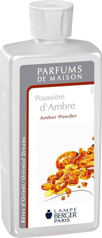 lampe berger parfum de maison poussi re d 39 ambre amber powder. Black Bedroom Furniture Sets. Home Design Ideas